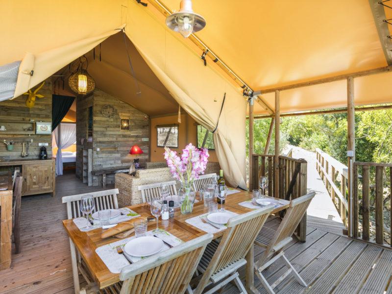 Veranda glamping tent - Casa Tuia, glamping.nl