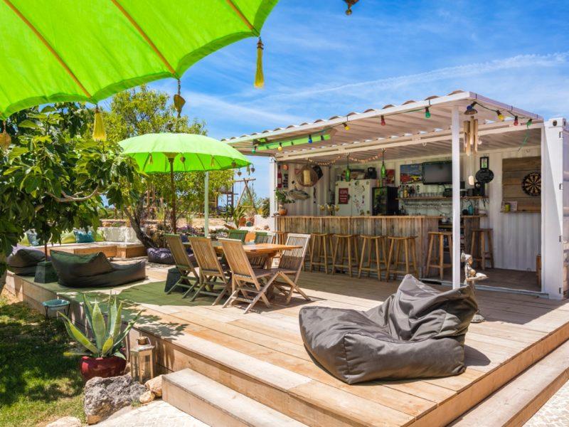 Terras bar camping - Casa Tuia, glamping.nl
