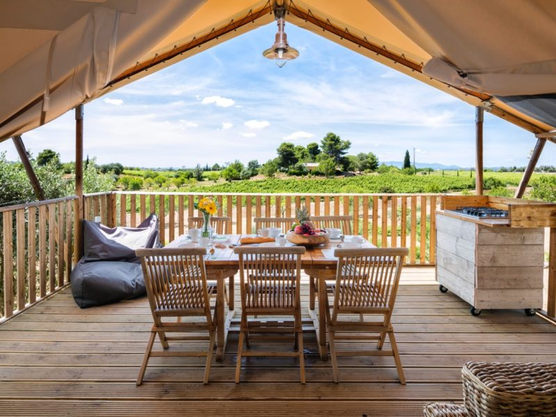 Uitzicht omgeving glamping - Casa Tuia, glamping.nl