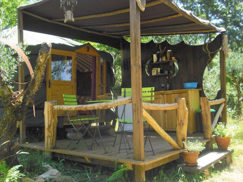 Accomodatie - Yurt, O Homem Verde, glamping.nl