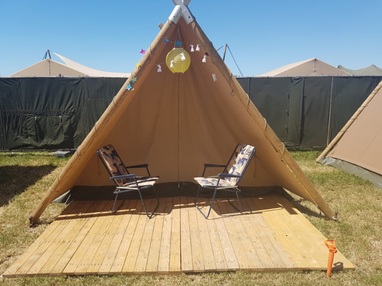 Tweepersoons tent Campsolutions - Glamping