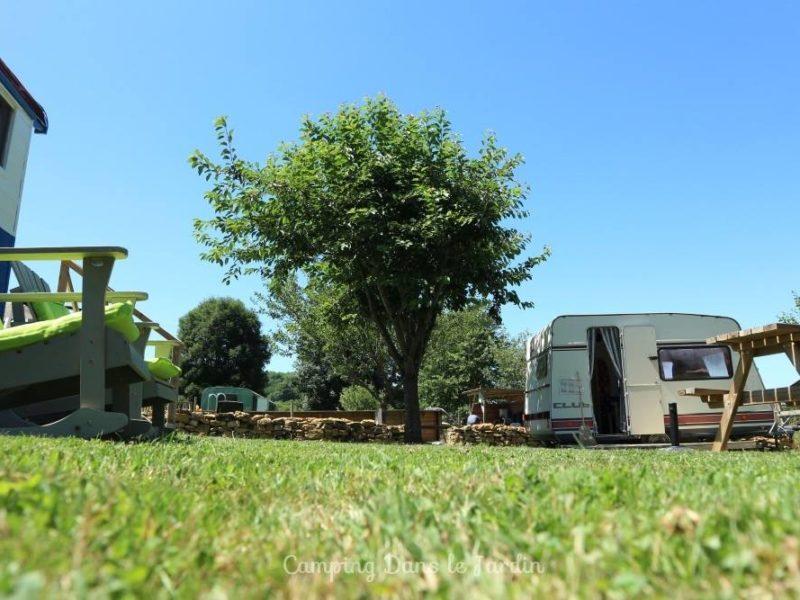 Pippowagen huuraccommodatie - Dans le Jardin, glamping.nl
