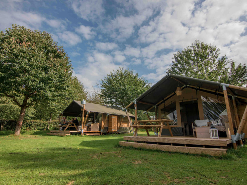 Safaritent Compact - accommodatie, Weerd´s hertenboerderij, glamping.nl
