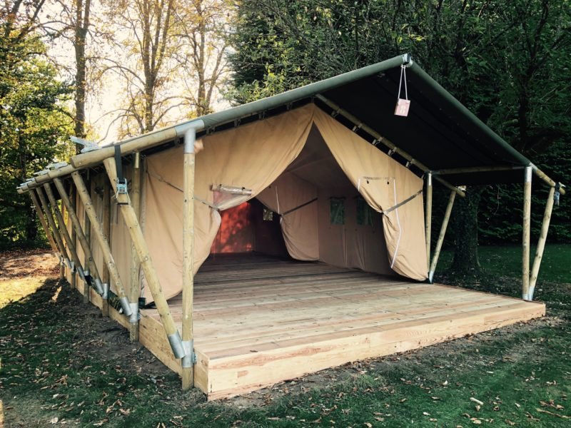 XL lodge - Safarilodgetent - Glamping fabrikant