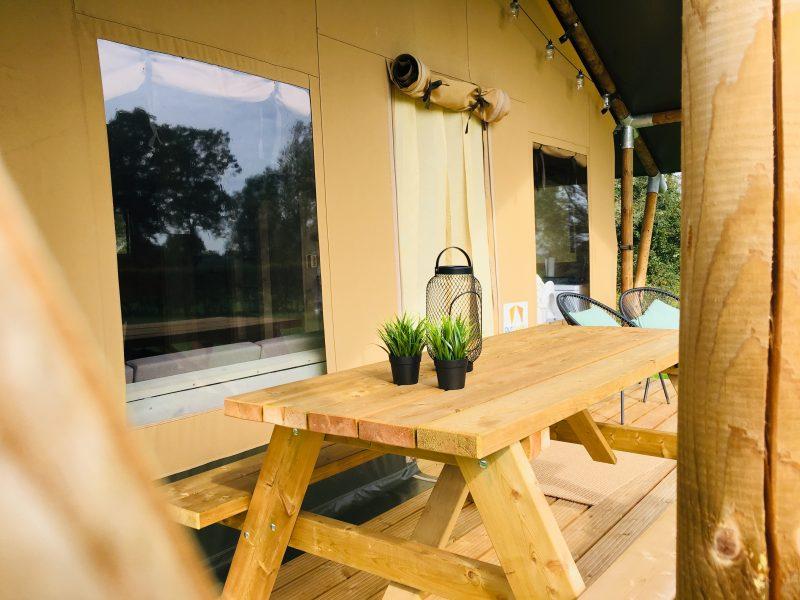 Veranda Safaritent - Camping- & Hertenboerderij De Weerd