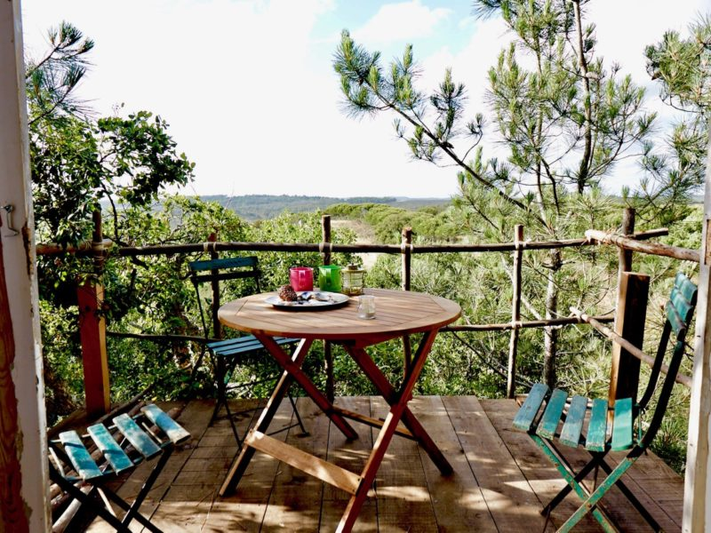 dakterras - accommodatie, into the wild Algarve, glamping.nl
