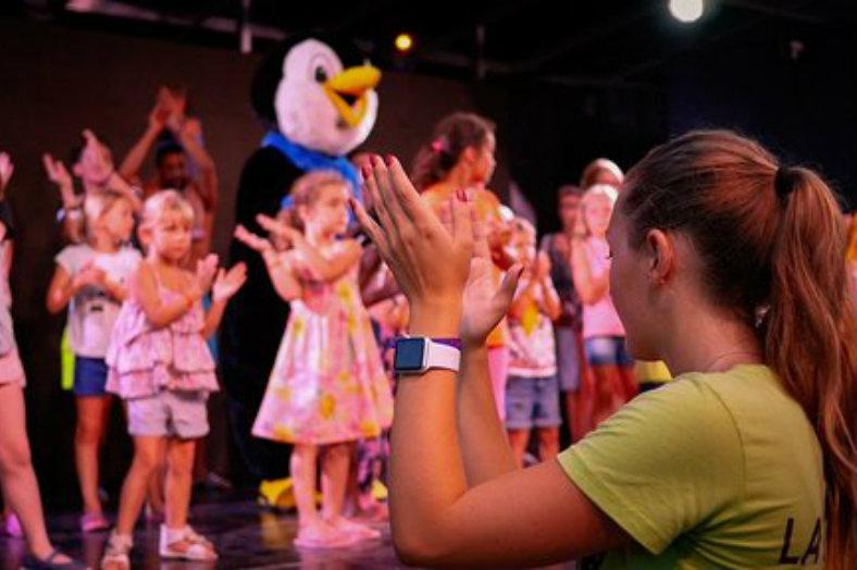Animatie kinderen, kidsclub - Le Pearl, glamping.nl
