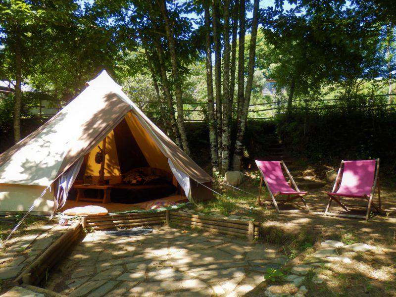 Moorisch tent - accommodatie O Homem Verde, glamping.nl