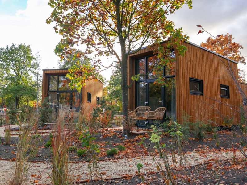 Tiny houses verblijf - DroomPark Hooge Veluwe, glamping.nl