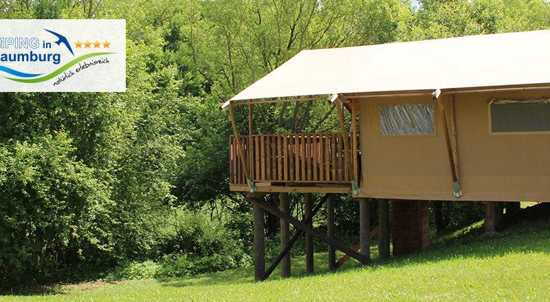 Safaritent - Camping Naumburg, glamping.nl