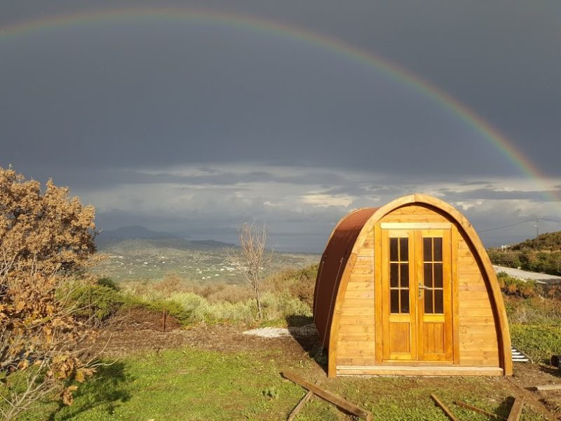 Pod accommodatie - Footscapes of Crete, glamping.nl