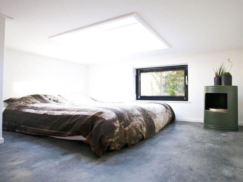 Slaapkamer tiny house - DroomParken, glamping.nl