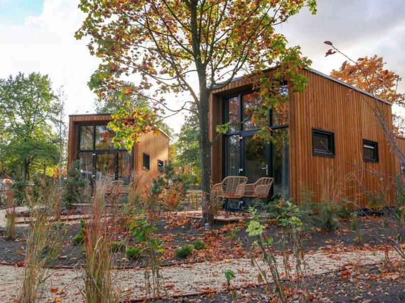 Tiny houses huuraccommodatie - DroomParken, glamping.nl