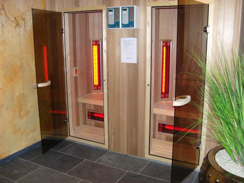 Wellness/sauna Droomparken - glamping.nl