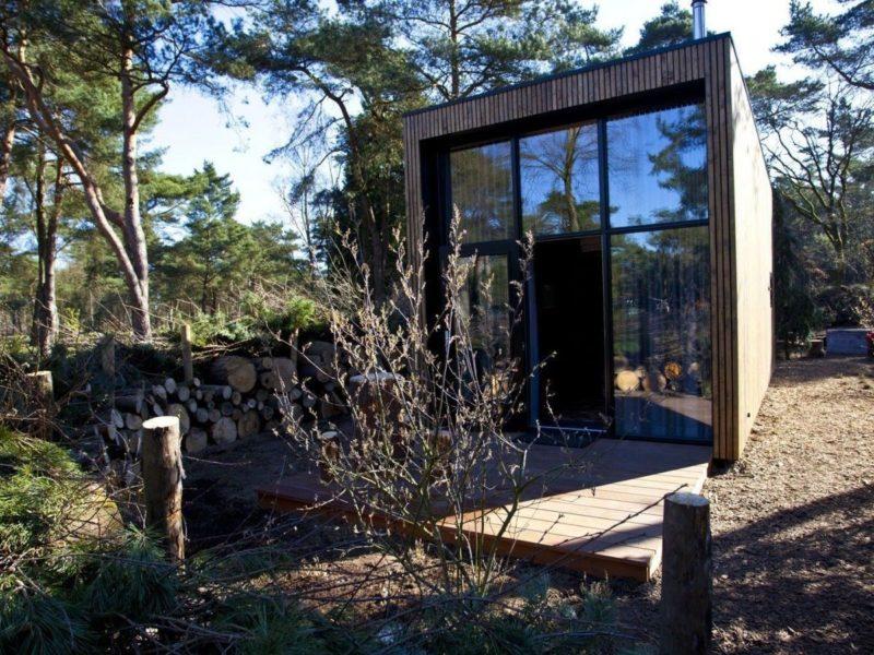 Huuraccommodatie tiny house - DroomParken, glamping.nl