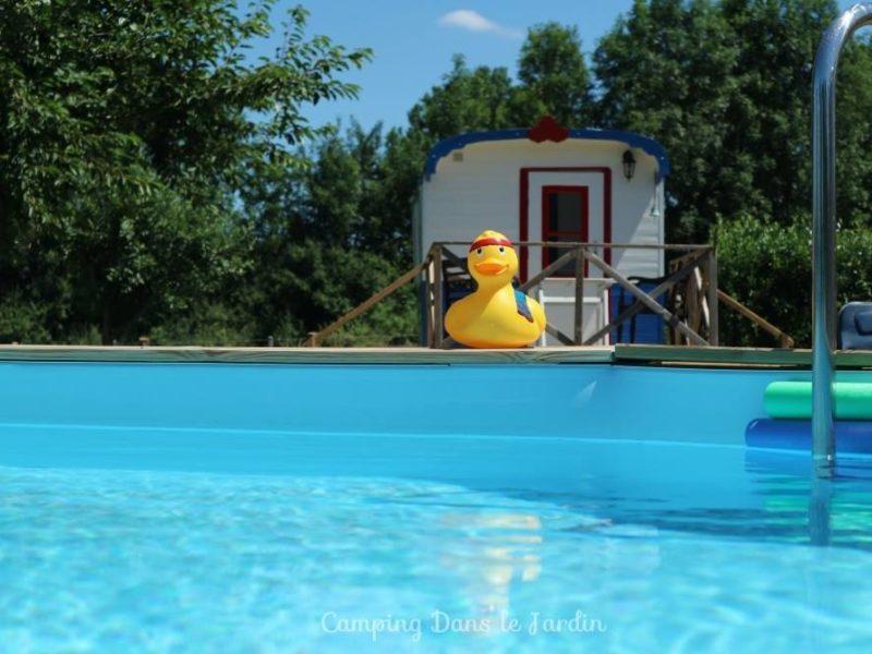 Zwembad Dans le Jardin - glamping.nl