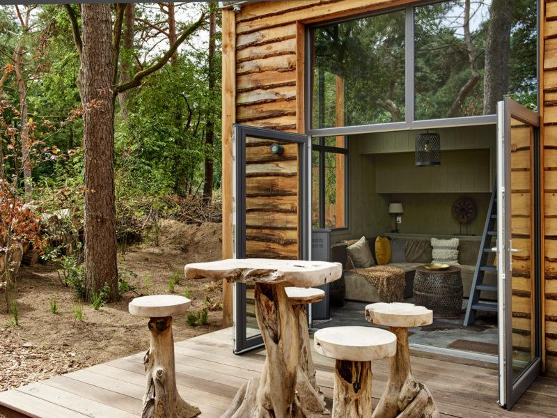 Tiny house, accommodatie - DroomPark de Zanding, glamping.nl
