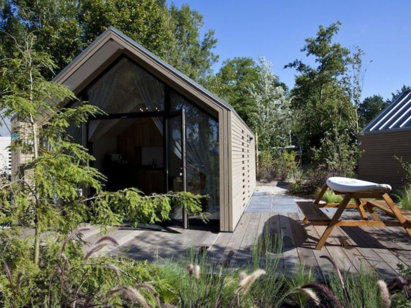 Tiny house - Beachhouse - DroomPark Bad Hoophuizen, glamping.nl