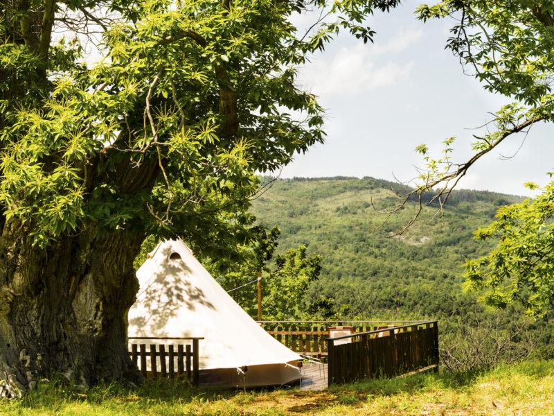 Glamping tent 1 - Podere di Maggio - Glamping