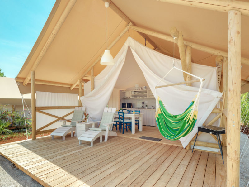 Veranda Premium Glamping tent - Istra Premium Glamping resort, glamping.nl