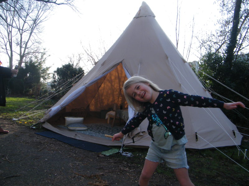 Tipi Tent Italy - Luna del Monte, glamping.nl