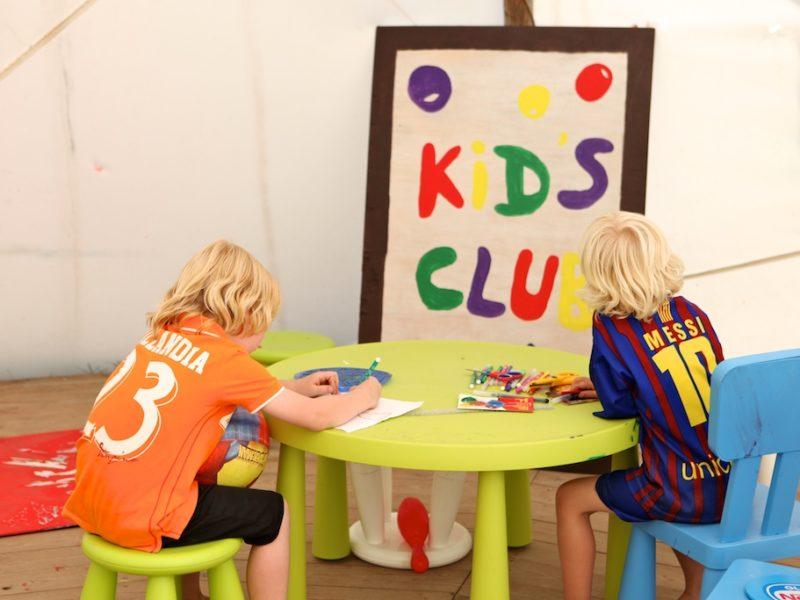 Kidsclub, animatie - Viglamo, glamping.nl
