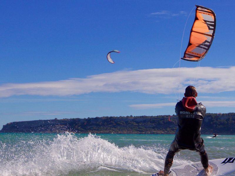 Kitesurfen omgeving