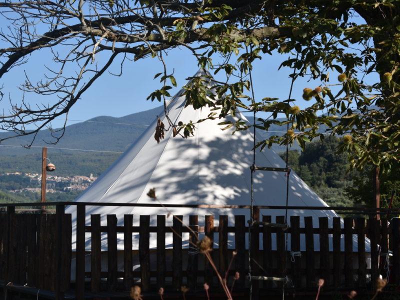 Tenda Chestnut dietro - Podere di Maggio - Glamping
