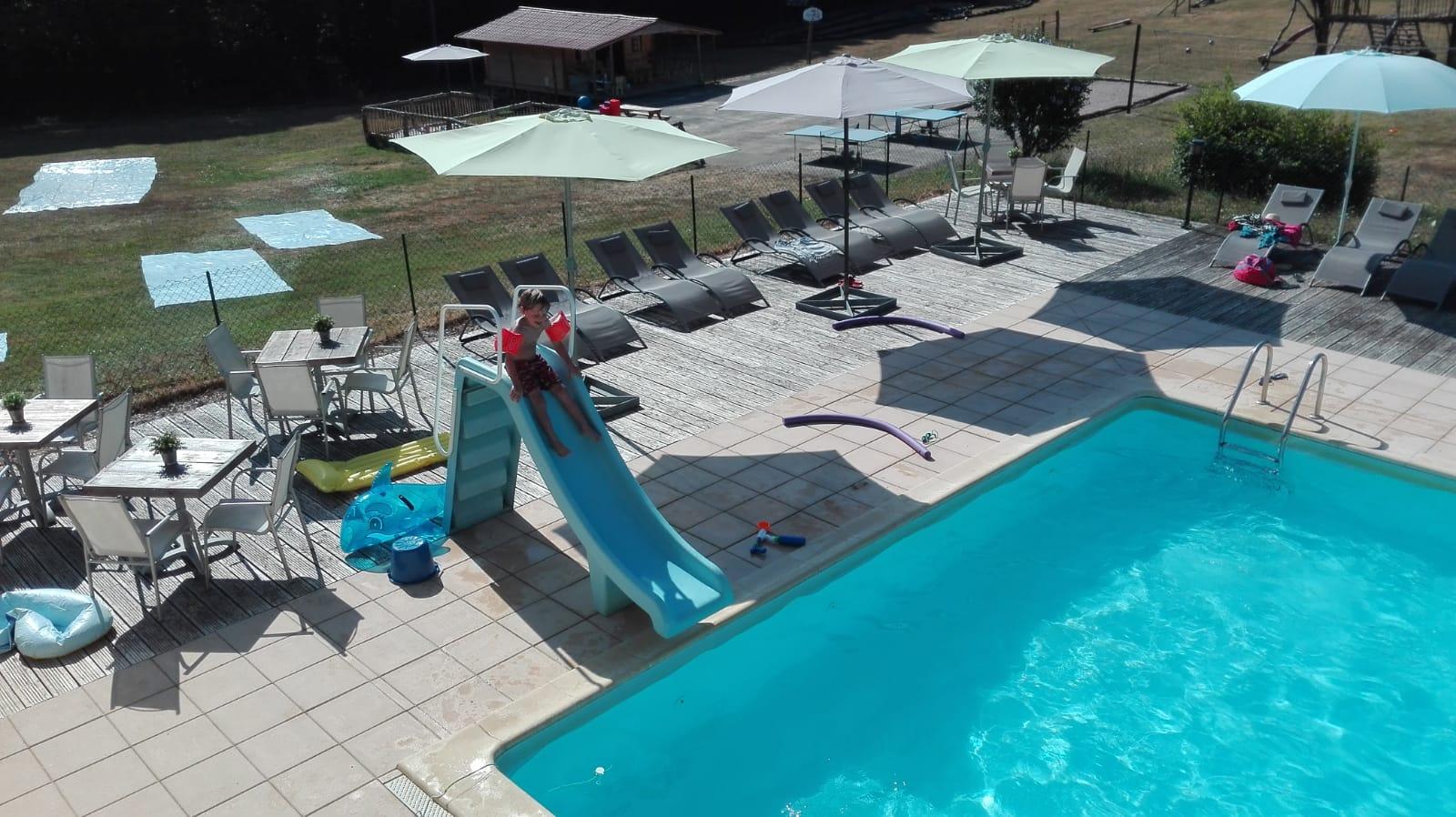 Zwembad - meivakantie naar Platus - Glamping
