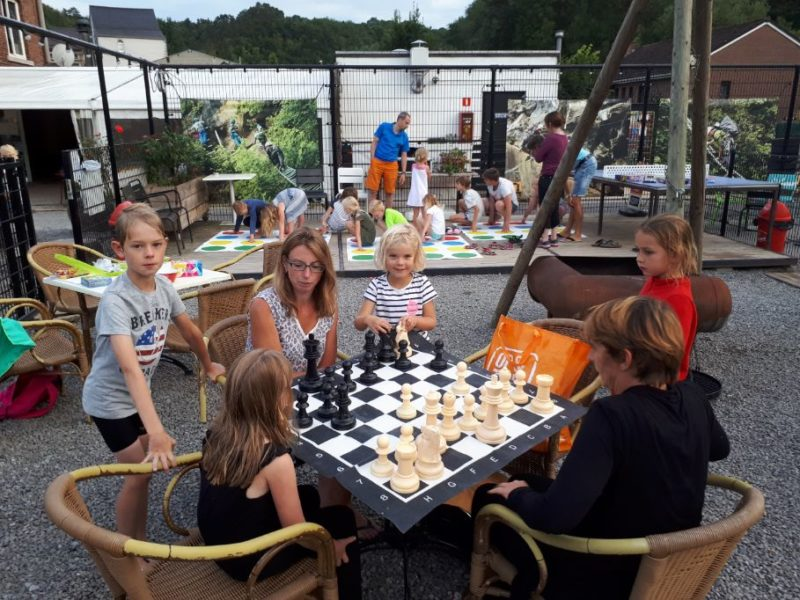 Animatie kinderen - Camping Le Confluent, Glamping.nl