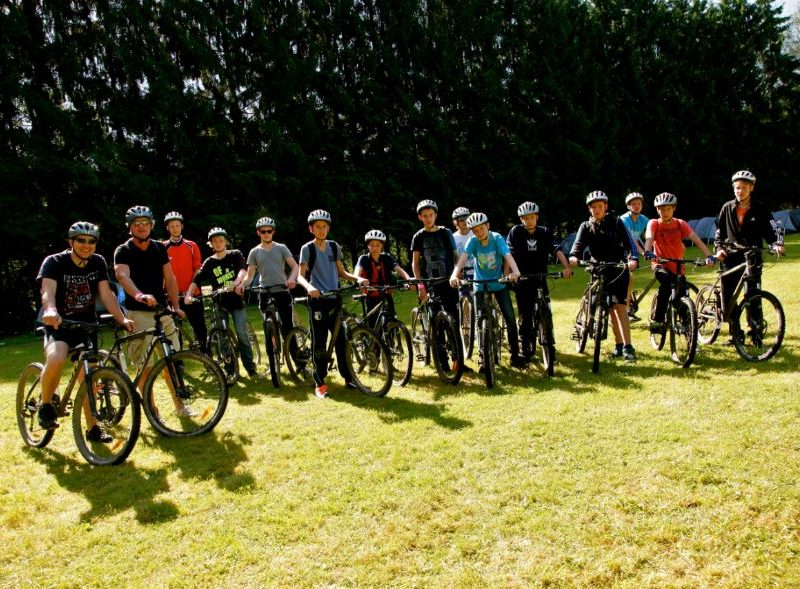 Fietstocht camping - Camping Le Confluent, Glamping.nl