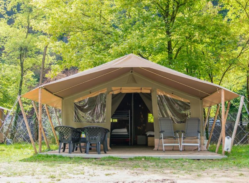 Safaritent - Camping Le Confluent, Glamping.nl