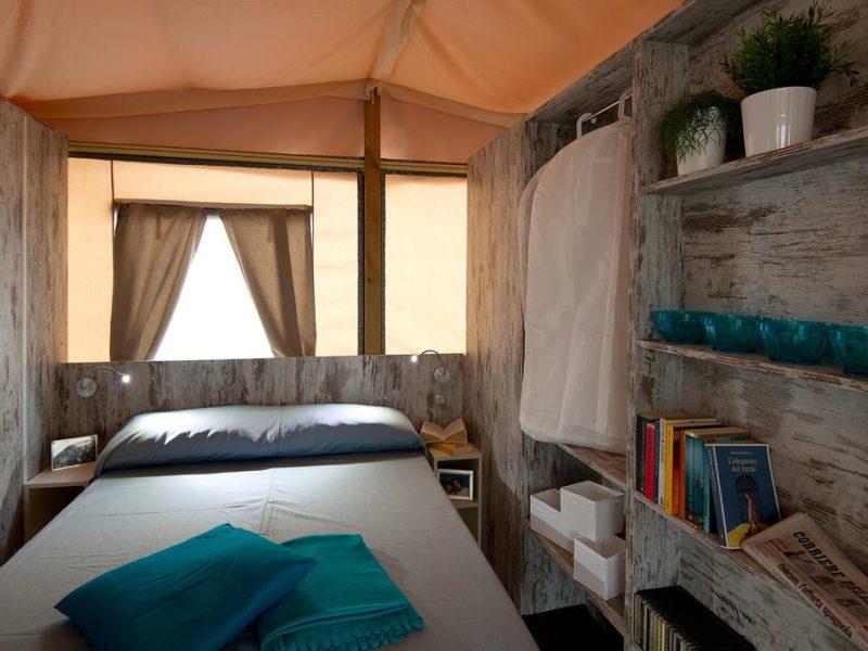 Slaapkamer Lodgetent - Santa Marina - Glamping