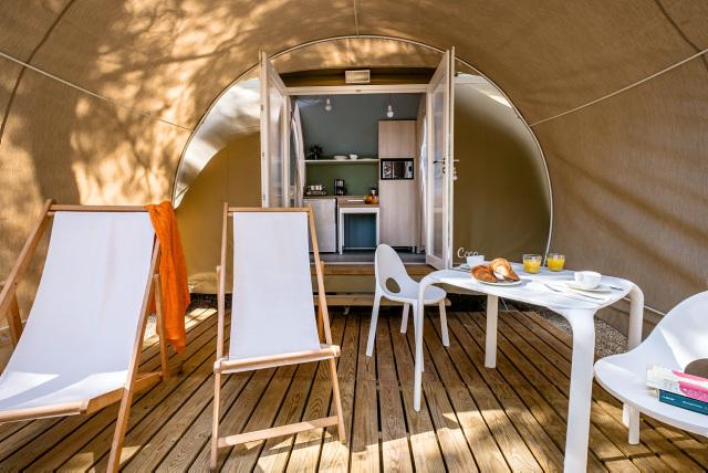 Inrichting Coco tent - Torre De La Mora, Glamping.nl