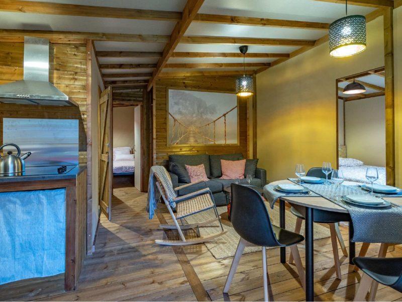 luxe lodges op Domaine Presqu'Île de la Franqui - Eco Lodge