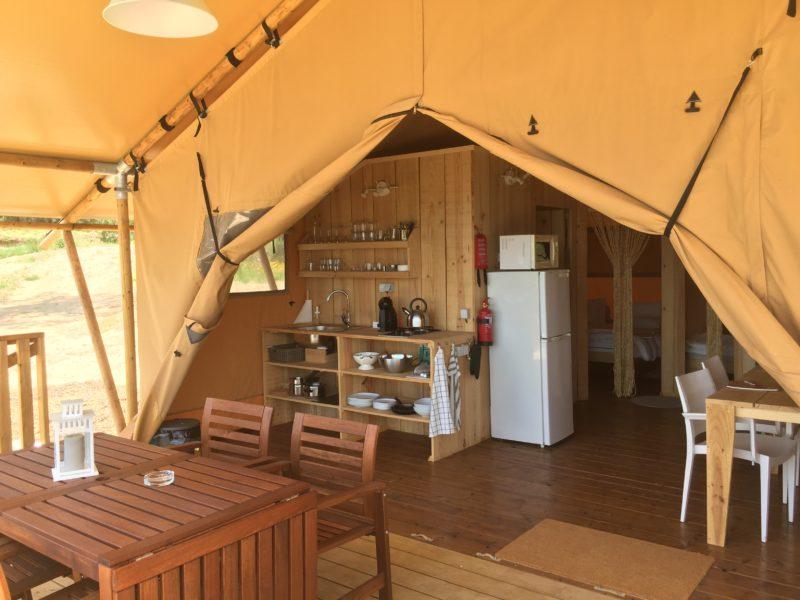 Inrichting glamping tent - Quinta O Ninho, Glamping.n