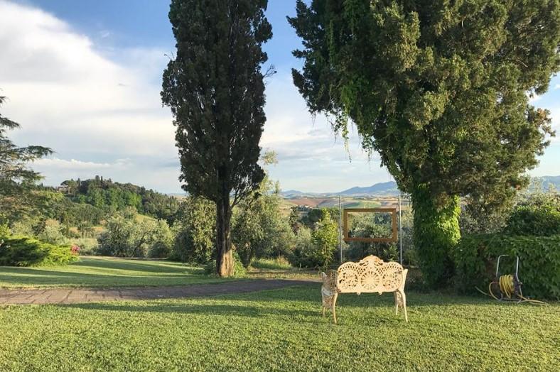 Landschap Toscane - L'Antica Fornace - Glamping
