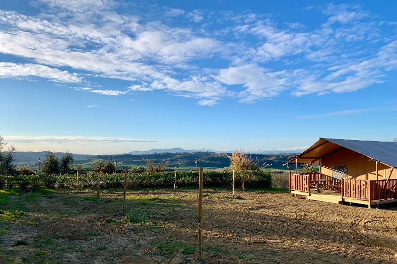 Overzicht safaritent - L'Antica Fornace - Glamping