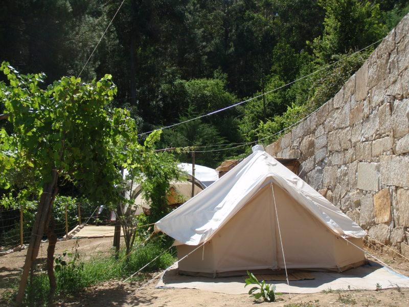 Bell tent huuraccommodatie - Quinta das Corujeiras, glamping.nl
