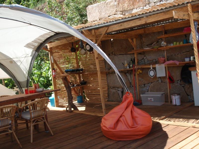Bell tent - Quinta das Corujeiras, glamping.nl
