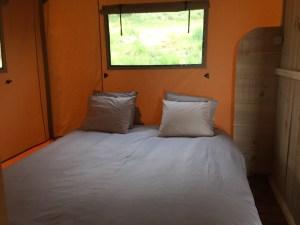 Slaapkamer 1 glamping tent - Quinta O Ninho, Glamping.n