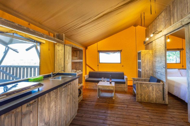 Keuken safaritent - Tenuta Regina