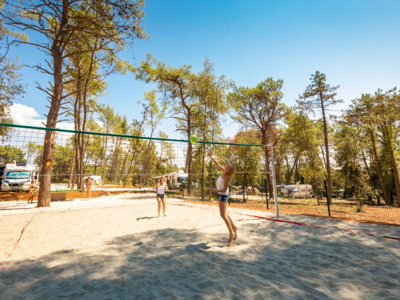 Volleybalveld - Santa Marina - Glamping