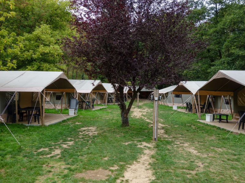Safaritenten - Camping Le Confluent, Glamping.nl