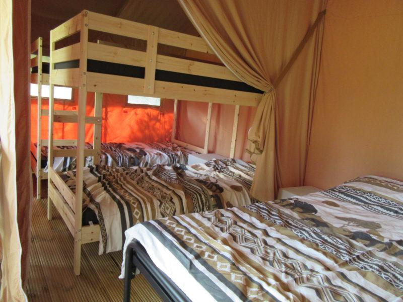 Inrichting slaapkamer - Camping Prima, Glamping.nl
