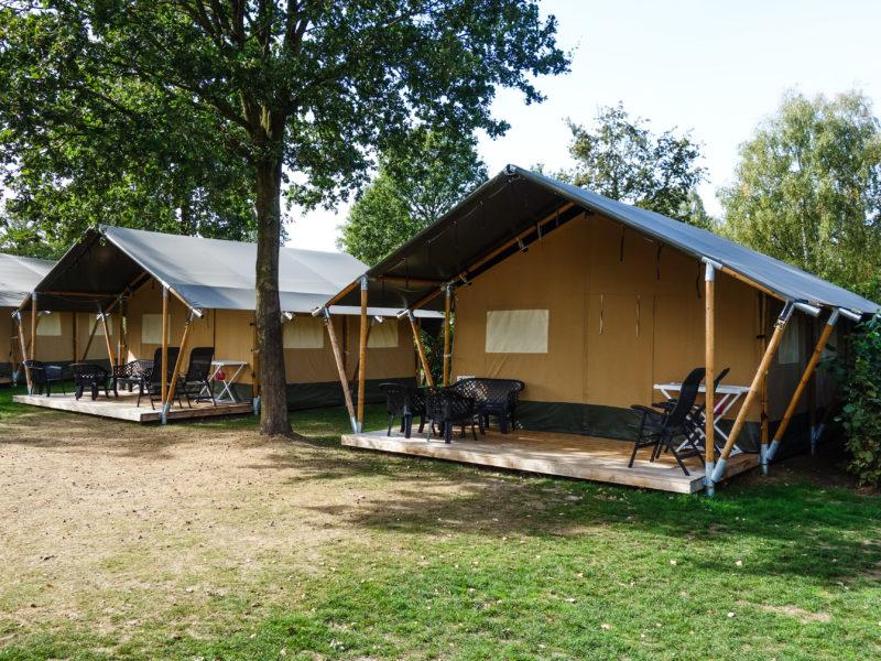 Safaritent huuraccommodatie -campingpark de Koekamp, Glamping.n