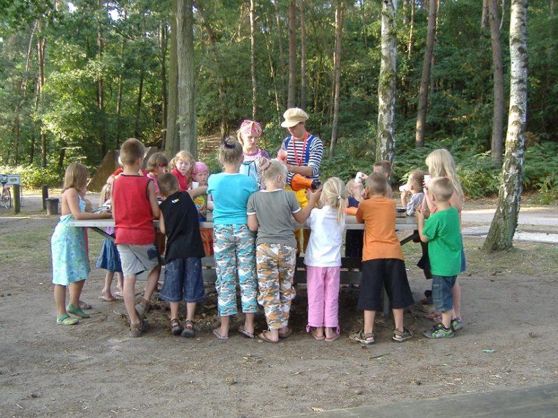 Animatie kids - Recreatiepark de Wrange, Glamping.nl