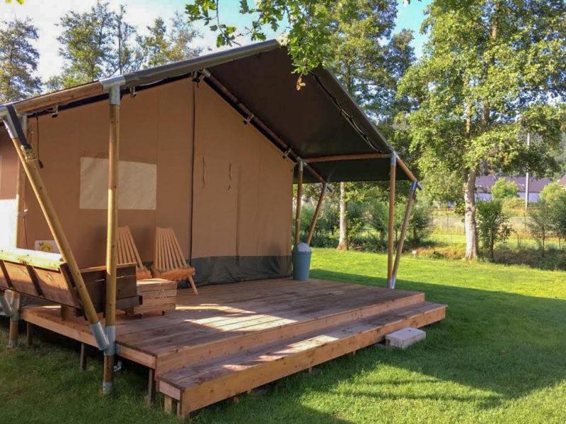 Huuraccommodatie safaritent Recreatiepark de Wrange, Glamping.nl
