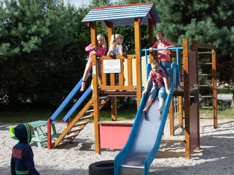 Speeltuin kids - Villatent Au Clos de la Chaume, glamping.nl