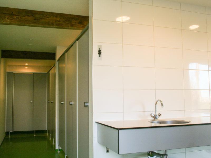 Sanitairgebouw - De Mulderije, Vodatent, Glamping.nl